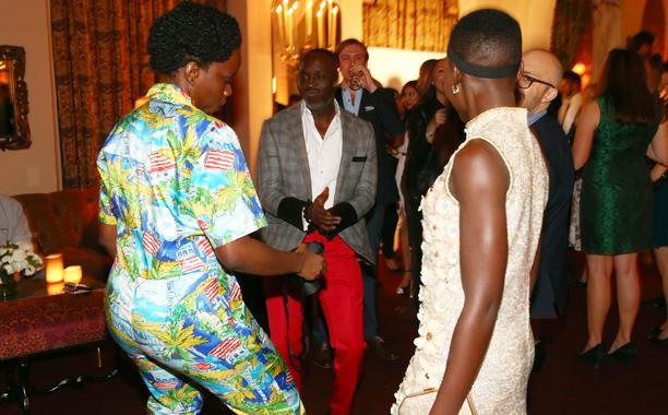 Adepero Oduye, Michael K. Williams, and Lupita Nyong'o