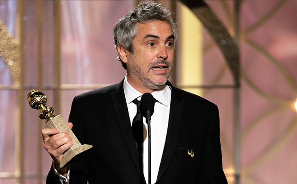 The man who gets ''herpes'' into his acceptance speech and doesn't come off as a creep WINS. During his Best Director acceptance, Alfonso Cuarón told…