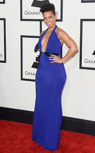Style, Grammy Awards, ... | The color, the cut, those curves! B+