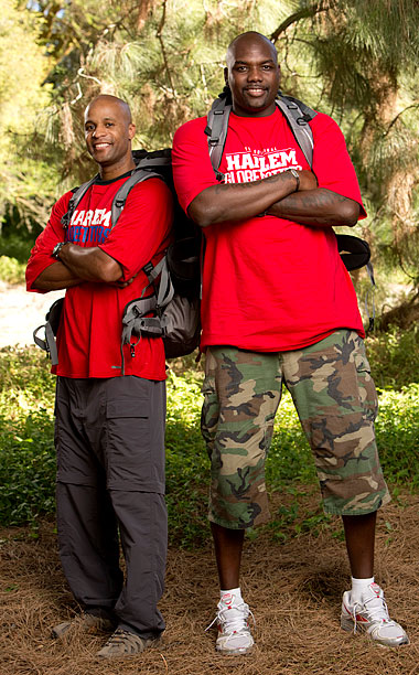 The Amazing Race | The friends and Harlem Globetrotters finished fourth in season 15 and second in season 18 — when Big Easy memorably had trouble unscrambling five letters…