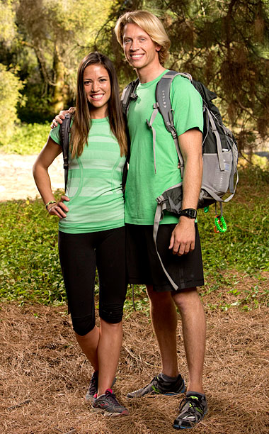 The Amazing Race | The Minnesota couple, now engaged, finished ninth in season 22 — the only team with an Express Pass to ever be eliminated.