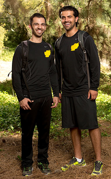 The Amazing Race | Season 23's fourth-place finishers polarized some other teams but gradually grew on viewers. Self-dubbed ''The Afghanimals,'' these friendly cousins live to entertain a crowd.