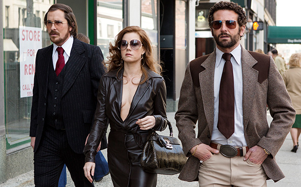 American Hustle (shown) 12 Years a Slave Gravity Nebraska Her The Wolf of Wall Street Captain Phillips Saving Mr. Banks Dallas Buyers Club Philomena It…