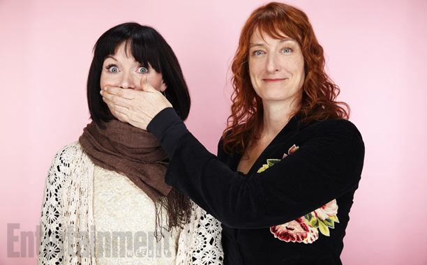 Essie Davis and Jennifer Kent (director), The Babadook