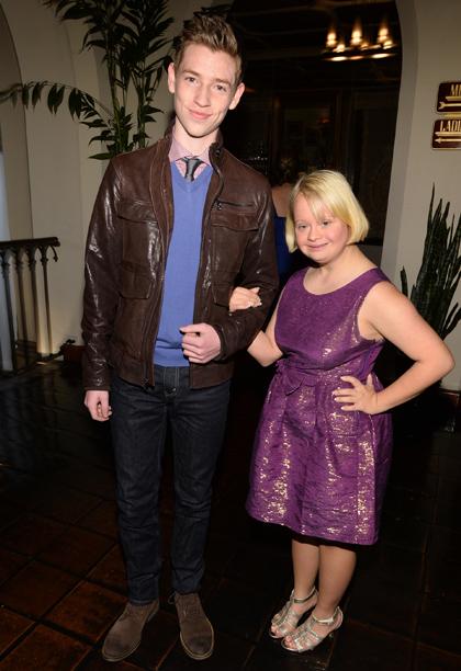 Jackson Pace and Lauren Potter