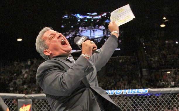 UFC announcer Bruce Buffer on catchphrases, nicknames, and more ...