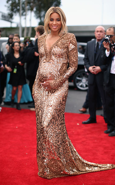 Style, Grammy Awards, ... | In a town where you can never be too thin, pregnant women are the hottest thing on the red carpet this awards season. Not only…