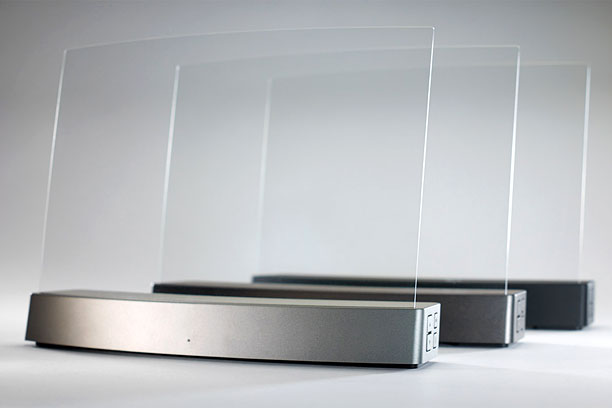 Bluetooth speakers come in every shape and size, but we've never seen or heard anything like Clearview's Clio, a crystal clear panel that is a…