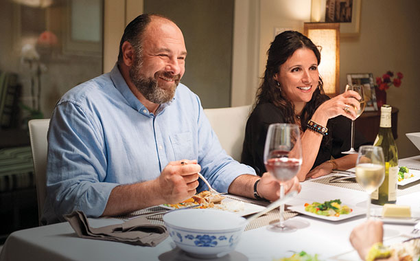SAY EVERYTHING The late James Gandolfini shines alongside Julia Louis-Dreyfus in Enough Said