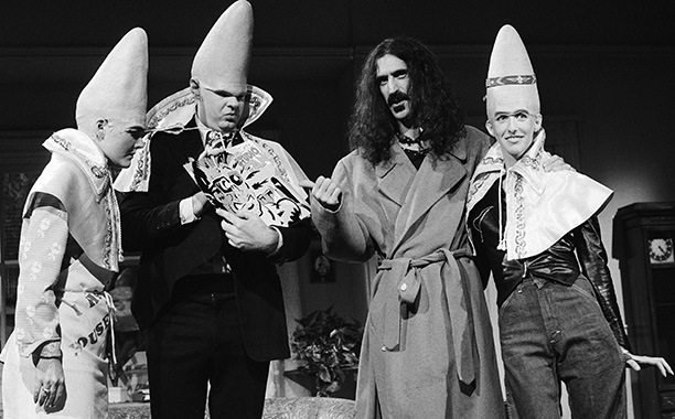 Saturday Night Live   Double duty date: Oct. 21, 1978 Snide antiestablishmentarian Zappa made a show of purposefully breaking character when he appeared on SNL for the second time.…