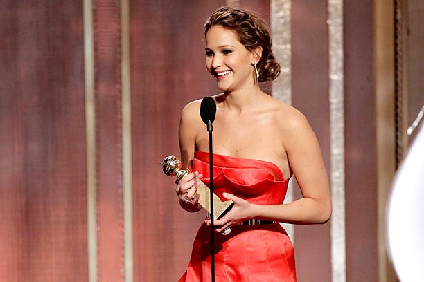 Golden Globes Jennifer Lawrence
