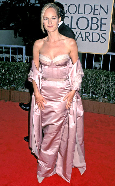 Style, Style: Red Carpet, ... | By the time she made it to the podium, the skirt of Hunt's Isaac Mizrahi bustier gown was a wrinkled mess. At least Hunt's fashion…