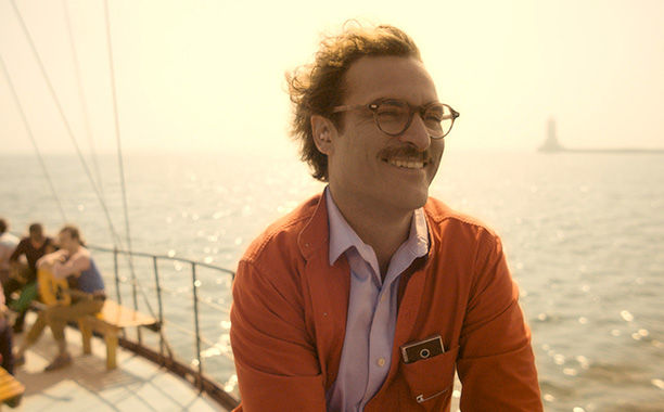 Spike Jonze, Her (shown) Eric Warren Singer and David O. Russell, American Hustle Woody Allen, Blue Jasmine Bob Nelson, Nebraska Joel Coen and Ethan Coen,…