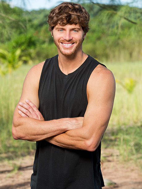 Survivor | Age: 34 Tribe: Beauty Current Residence: Dobson, N.C. Occupation: Male Model Three Island Essentials: A North Carolina flag — it's where I was born and…
