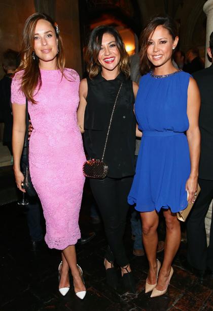 Jessica McNamee, Jessica Szohr, and Vanessa Lachey