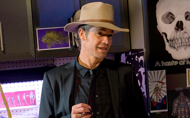 Michael Rapaport and Timothy Olyphant on Justified