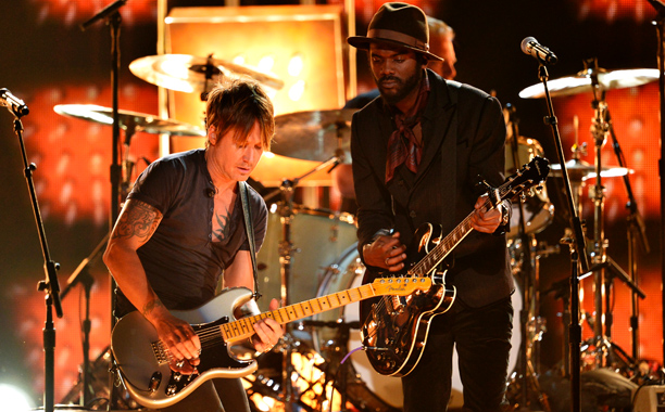 Grammy Awards, Grammy Awards 2014 | For a love song as saucy as Keith Urban's ''Cop Car,'' Keith and Gary Clark Jr. struggled to find much chemistry — until, of course,…
