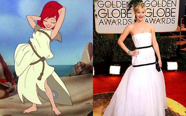 Little Mermaid Jennifer Lawrence