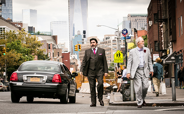 John Lithgow (genteel, wily, with hidden corners) and Alfred Molina (open, affable, vulnerable) are touching together as aging New Yorkers who've been a couple for…