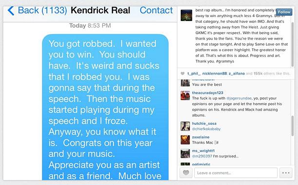 Macklemore Kendrick