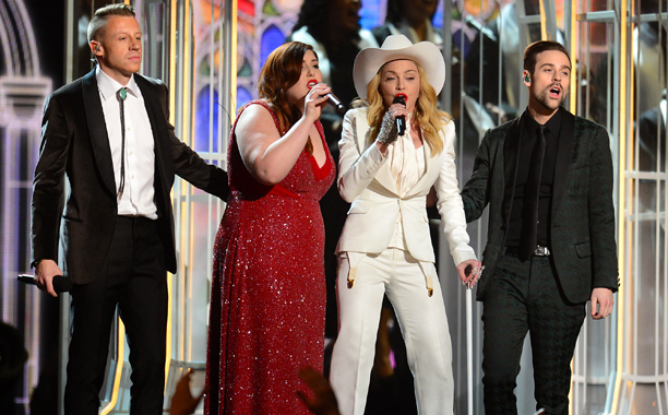Grammy Awards, Grammy Awards 2014 | You can begrudge Macklemore & Ryan Lewis their Best Rap Album Grammy (and I do), but Macklemore and his friends — Lewis and Mary Lambert,…