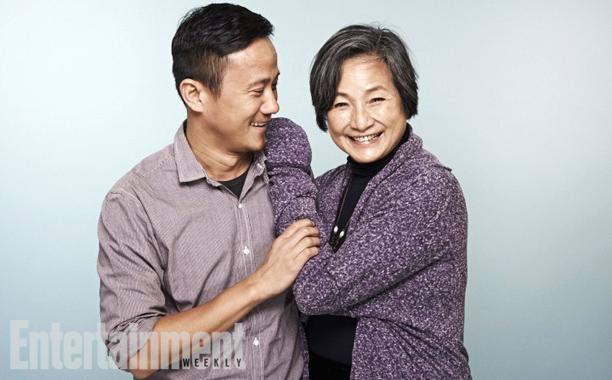 Director Hong Khaou and Pei-Pei Cheng, Lilting