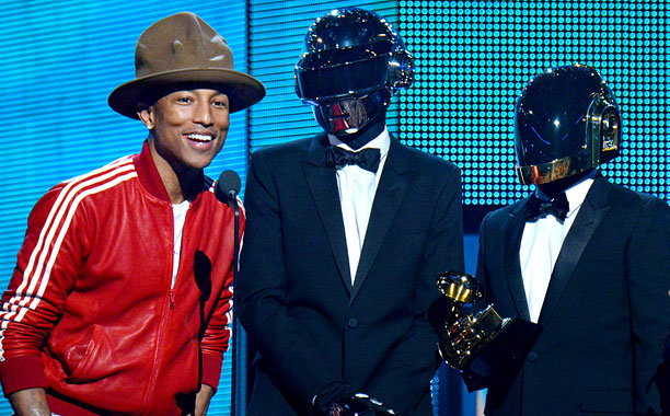 Pharrell Daft Punk PS