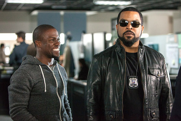 RIDE OR DIE Kevin Hart tries to win Ice Cube's approval in Ride Along