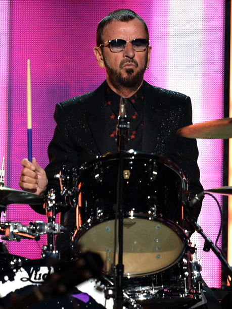 Grammy Awards, Grammy Awards 2014 | There's a reason Ringo Starr is known more as the drummer for the Beatles and less as a frontman. While his sway game is top…