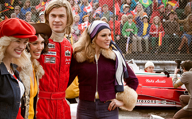 NOT TOM SAWYER Fans of the ''YYZ'' band stay away, this Ron Howard film stars Chris Hemsworth tackling the face-paced world of F1