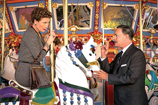 'SAVING' ALL MY LOVE FOR YOU Saving Mr. Banks is an entertaining film that chronicles the story behind the story of Mary Poppins .