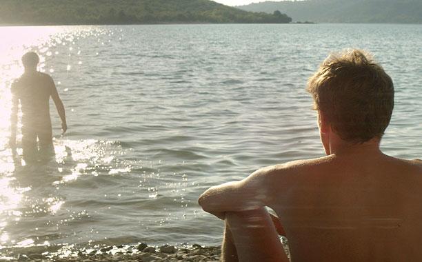 STUNNING LAKE VIEWS Stranger by The Lake is a pleasant voyeuristic drama.