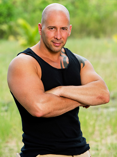 Survivor | Age: 39 Tribe: Brawn Current Residence: Jersey City, N.J. Occupation: Police Officer Pet Peeves: Thugs who wear skinny jeans. Also, people who see me speaking…