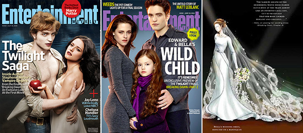 July 18, 2008?June 22, 2012 EW was the first magazine to identify what a force of nature the Twilight movies would be. Over the years,…