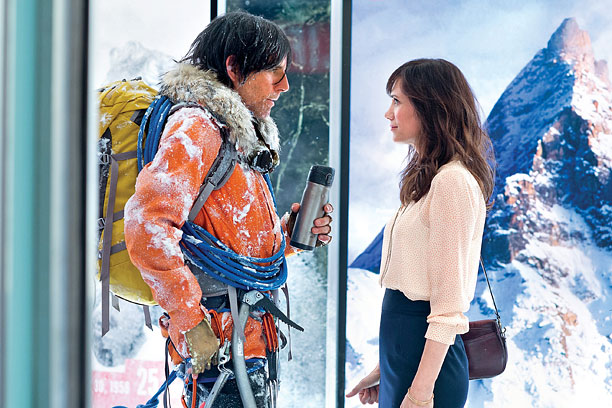 FROST BREWED Ben Stiller tries valiantly but is just off the mark finding the heart and soul of Walter Mitty.