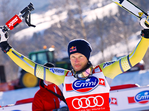 Winter Olympics 2014   Age: 31 Sport: Skiing Team: Norway Fun Fact: When he's able to escape the cold weather, Svindal enjoys a refreshing oceanfront yoga session to rejuvenate.…