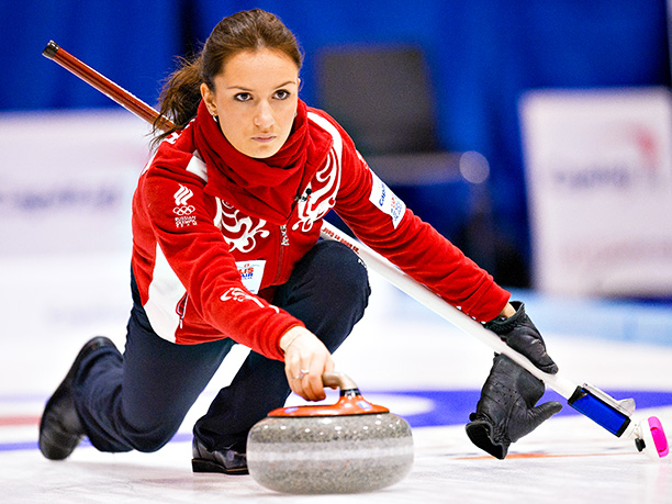 Winter Olympics 2014   Age: 23 Sport: Curling Team: Russia Fun Fact: At 19 years old, Sidorova was one of the youngest curling team captains at the 2010 Winter…