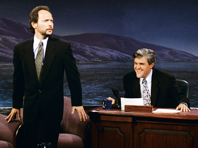 The Tonight Show With Jay Leno, Billy Crystal, ... | Aired: May 25, 1992 After performing his first opening monologue (which featured a joke about Vice President Dan Quayle and the controversy over Murphy Brown…