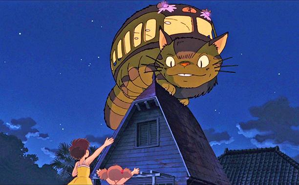My Neighbor Totoro   Strange, terrifying, SO FUZZY. Also practical!
