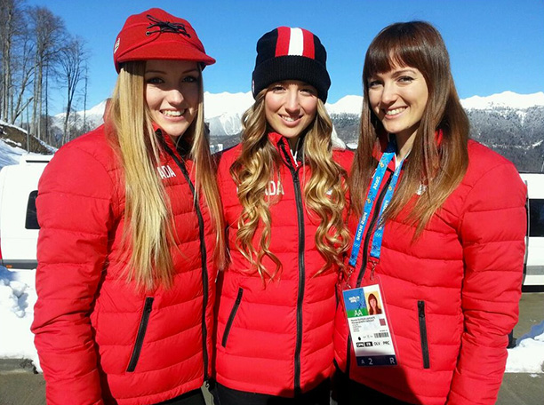 Winter Olympics 2014   Age: 24, 22, and 19 Sport: Freestyle skiing Team: Canada Fun Fact: All three of these sisters have already reached the women's moguls finals and…