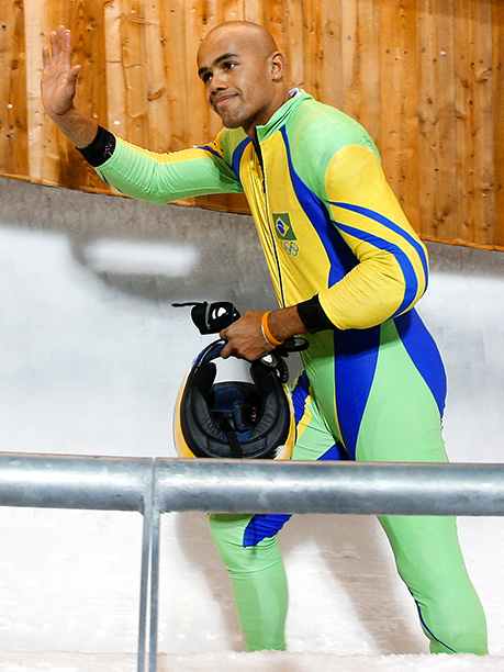 Winter Olympics 2014   Age: 34 Sport: Bobsleigh Team: Brazil Fun Fact: According to this Facebook page , Bindilatti likes it a little spicy, sporty, and a little sweet.…