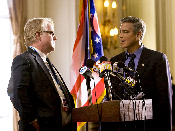 Philip Seymour Hoffman | Loyalty and manipulation are the two contrasting forces at the core of Hoffman's Paul Zara, a senior campaign manager for a presidential campaign that has…