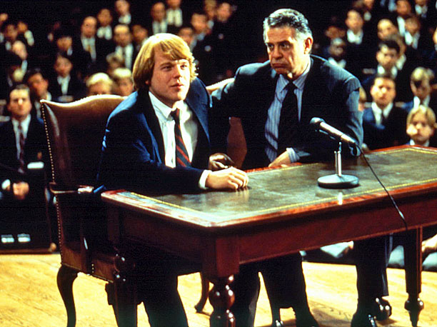 Philip Seymour Hoffman | Hoffman's first screen credit was a 1991 episode of Law & Order , playing a sarcastic street thug, and in his early days Hoffman tended…