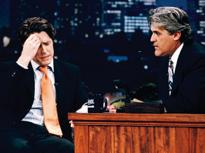 The Tonight Show With Jay Leno, Hugh Grant, ... | Aired: July 10, 1995 After his highly publicized arrest for being caught with a prostitute, the British actor makes his first public appearance on the…