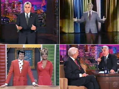 The Tonight Show With Jay Leno, Johnny Carson | Aired: Jan. 24, 2005 The day after Johnny Carson died, guests like Ed McMahon, Bob Newhart, and Don Rickles sat on the couch opposite Leno…