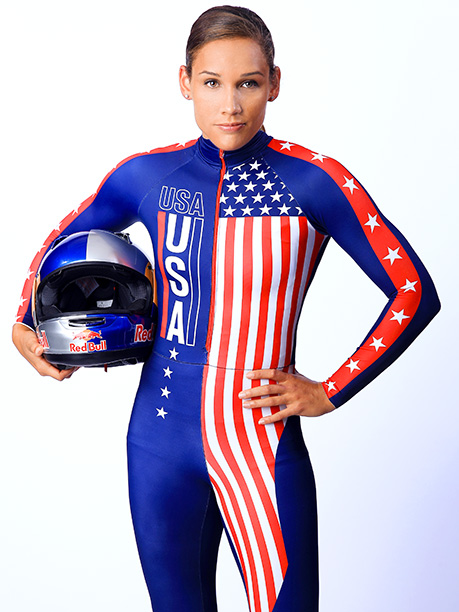 Winter Olympics 2014   Age: 31 Sport: Bobsleigh Team: USA Fun Fact: Jones can do it all! In addition to bobsled, she competed in Track & Field at both…