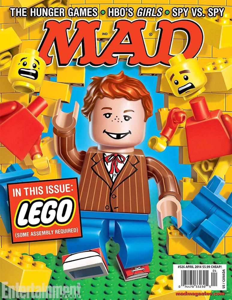 Mad Magazine Lego Cover