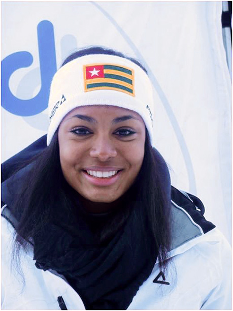 Winter Olympics 2014   Age: 19 Sport: Alpine Skiing Team: Togo Fun Fact: Thanks, Facebook! She earned her spot on the team after the Togolese Ski Federation contacted her…
