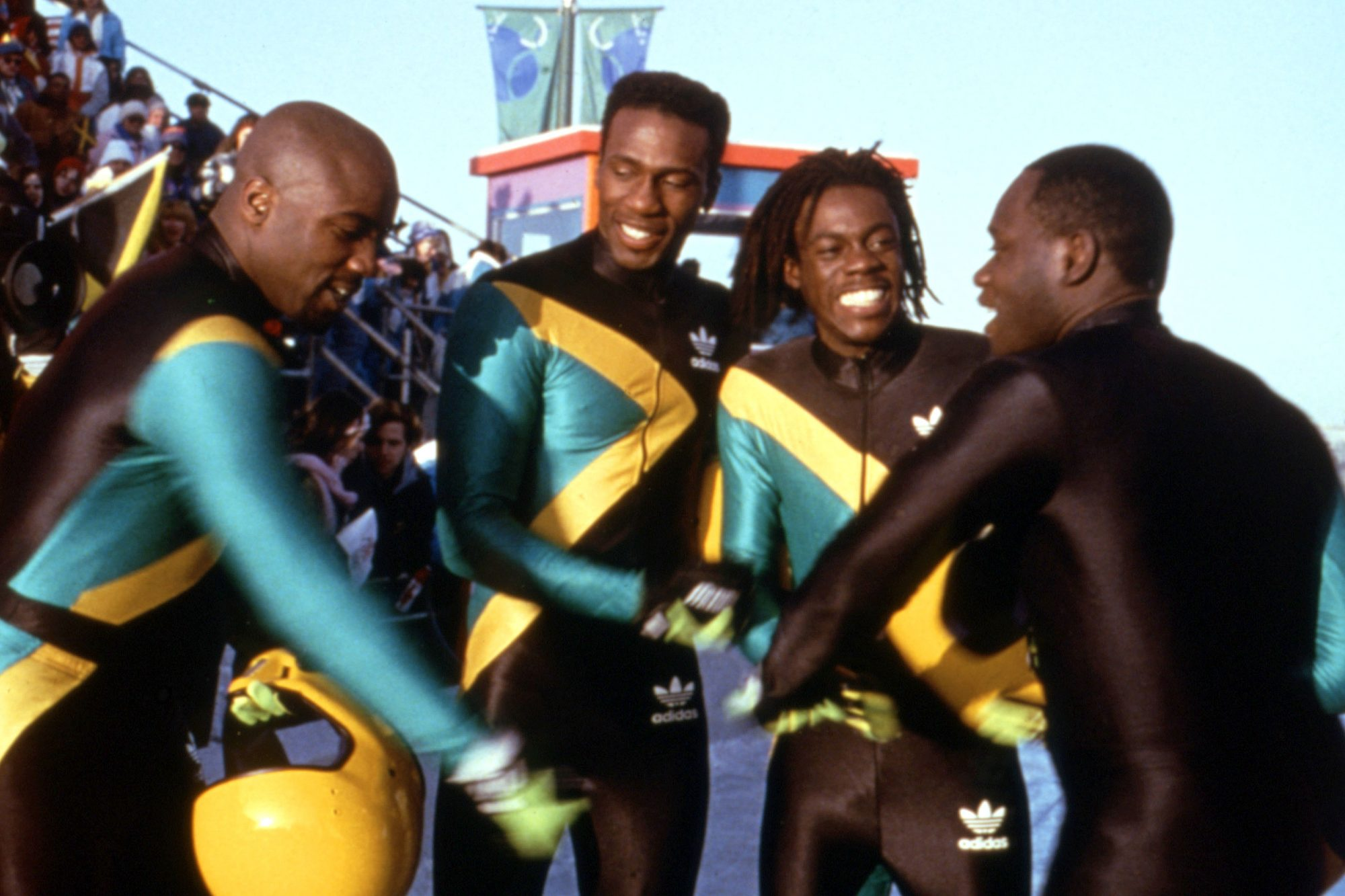 COOL RUNNINGS, Malik Yoba, Leon, Doug E. Doug, Rawle D. Lewis, 1993, (c)Buena Vista Pictures/courtes