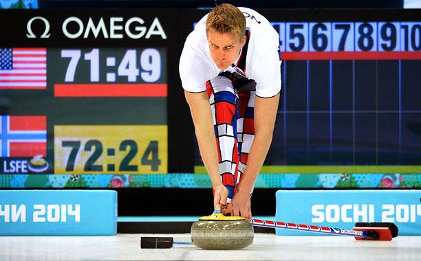 Norway US Curling Sochi 2014